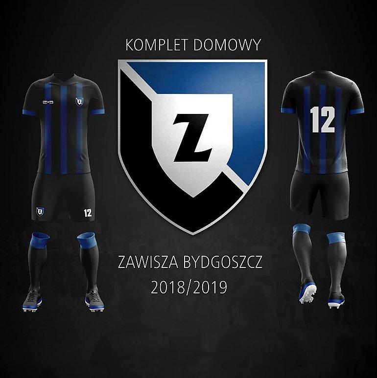 220f94fbdf93f Zawisza wybrał stroje na nowy sezon. Konkurs rozstrzygnięty ...
